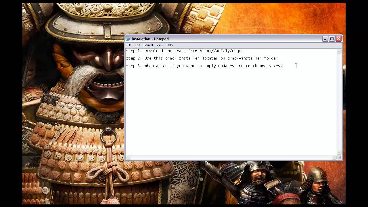 Total War Shogun 2 Crack - YouTube