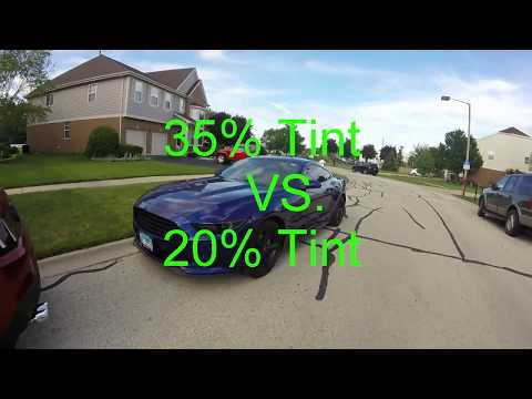Comparison Between 35% Window Tint VS. 20% Window Tint On A Car