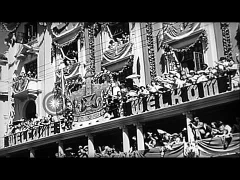 British Royal family visits Cape Town, South Africa, in the first visit to South ...HD Stock Footage