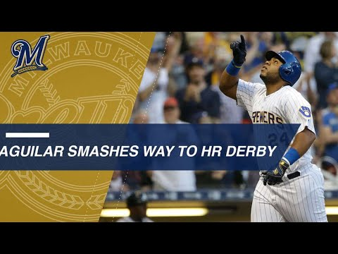 Jesus Aguilars 24 homers most of HR Derby players