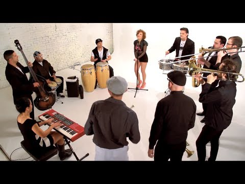 Young Folks (Official Latin Salsa Music Video) played by the Williamsburg Salsa Orchestra
