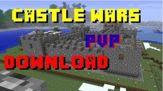 ♦Minecraft Xbox | CASTLE WARS PVP MAP | DOWNLOAD