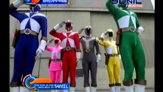 Power Rangers Time Force Vs Light speed rescue (Hindi)