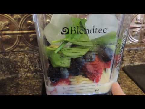 Blendtec Designer Series Wildside Blender Review - Making A Smoothie