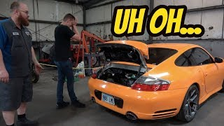 Fixing My Dead 911 Turbo Requires Removing the Engine-- But It Could Be Worse