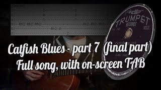 Catfish Blues by Bobo Thomas | Spanish tuning lesson 4 - part 7 (full TAB)