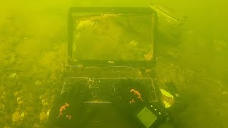 Found Laptop Underwater in the River While Scuba Diving! (Stolen Computer?)