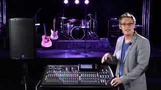 Acoustic Integration for Your Portable Church with X32 & Turbosound iQ (Part 1 of 2)