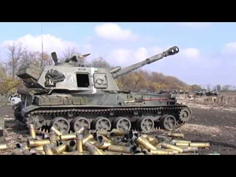Ukrainian Artillery Supports Donetsk Airport 'Cyborgs': Kremlin-backed insurgents besiege airport