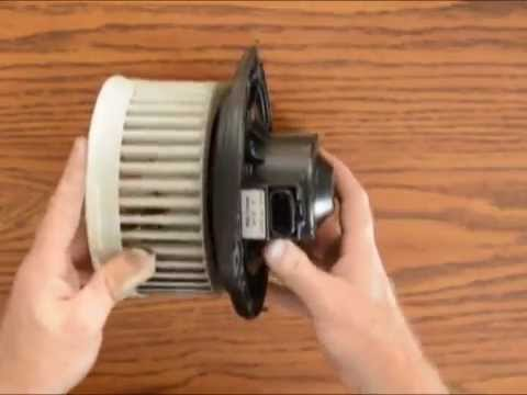 2005 Cadillac Deville Heater/AC Blower Motor Cleaning/Repair