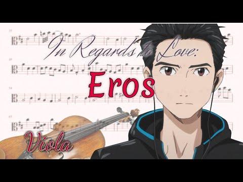 In Regards To Love: Eros - Yuri!!! On Ice (Viola)