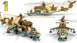 How To Build Lego Mi-35M Hind E (PART 1)