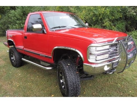 sold.1994 CHEVY SILVERADO 1500 REG CAB STEPSIDE Z71 LIFT KIT 4X4 91K SUPER CLEAN CALL 888 439 1265