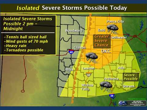 Severe Weather Update - Thu May 30 2013 Noon