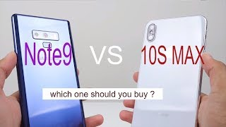 iphone XS Max vs Galaxy Note9 មួយណាល្អជាង?