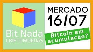 Mercado de Cripto! Bitcoin pode estar acumulando? / Trump & Sun / feat. Dalila Malcriada