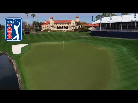 The ultimate drone flyover of TPC Sawgrass | THE PLAYERS