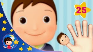 Finger Family   Sleeping Baby   Kids songs   Nursery Rhymes   Little Baby Bum