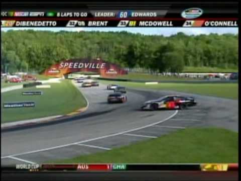 TV Time With Steve Wallace Part 2 Bucyrus 200 Road America NNS. 2010.mpg Video