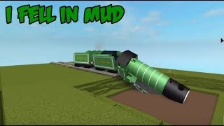 Thomas & Friends Percy Plunge Mud Best Moments Roblox