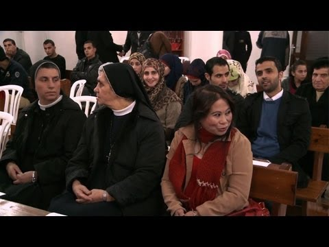 Christians in Gaza City get ready to celebrate Christmas