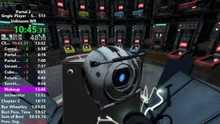 Portal 2 Inbounds in 1:02:40 [FORMER WORLD RECORD]