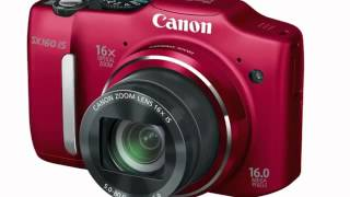Canon PowerShot SX500 IS and SX160 IS Digital Cameras