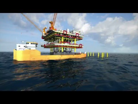 Offshore platform floatover products and solutions