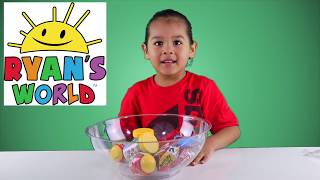 RYAN'S TOYS REVIEW MYSTERY PUTTY