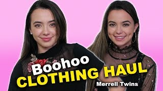 Boohoo Clothing Haul - Merrell Twins