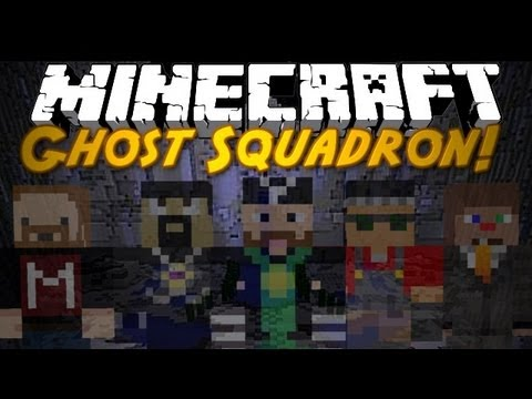 Minecraft: Ghost Squadron w/ YouTubers!