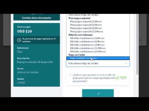 Portal en línea - Permiso de funcionamiento