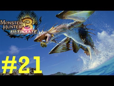 Monster Hunter 3 Ultimate - Online Quests -- Part 21: Zinogre's Fury!