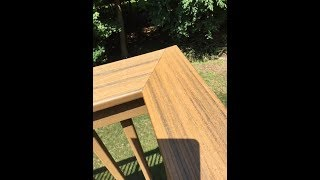 How to effectively lengthen a deck top rail using a miter joint that is not 45 degrees