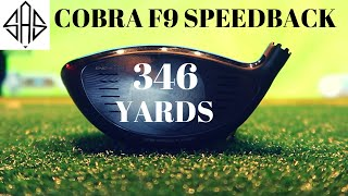 RECORD DRIVE: Cobra F9 Speedback Driver (346 Yards)