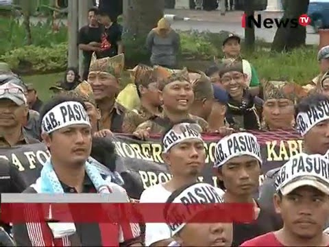 Hari ke 3 demo pegawai honorer - Jakarta Today 12/02