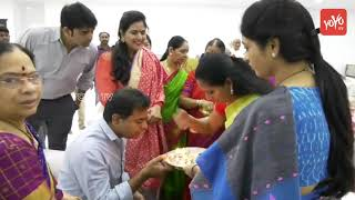 KTR Take Blessings From Family Members | TRS Working President | Telangana News | CM KCR