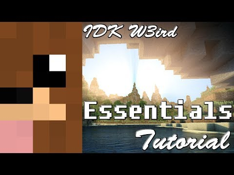 How to make kits on a MineCraft Server [Essentials] [Bukkit]