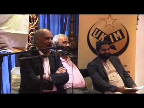 Prof. Anwar Masood In Birmingham 2014 video