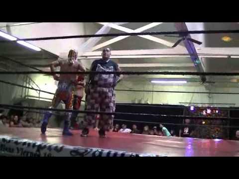 NSPW 8/24/14: Lucha Semi Final -6 man tag