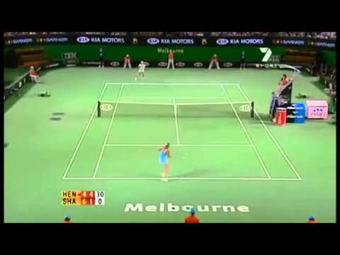 Justine Henin vs Maria Sharapova Australian Open 2006 Highlights