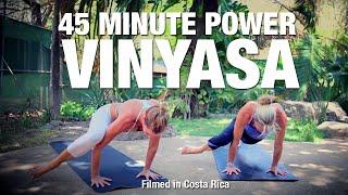 45 Minute Power Vinyasa Flow Yoga Class - Five Parks Yoga
