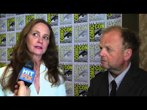 Melissa Leo and Toby Jones on working with great talent on 'Wayward Pines'