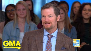 'GMA' Hot List: Dale Earnhardt Jr. says he's nervous to drive pace car at Indy 500 l GMA Digital
