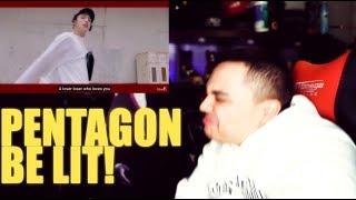 Pentagon Shine Mv Reaction