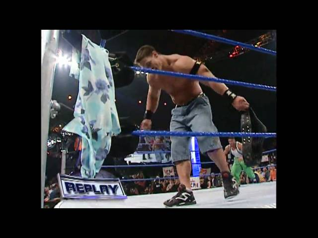 WWE John Cena Returns to Smackdown and faces Carlito Caribbean Cool for the US Title (Part 2)