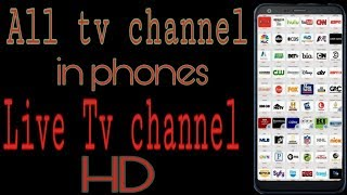 Live tv channel in phones// apps education