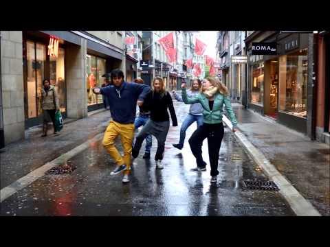 Sean Paul Touch The Sky Danced By Dance Crew Unisport St. Gallen video