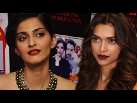 Sonam Kapoor's SHOCKING REACTION on Deepika Padukone's CLEAVAGE controversy