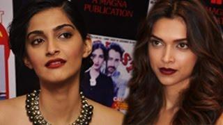 Sonam Kapoors SHOCKING REACTION on Deepika Padukones CLEAVAGE controversy